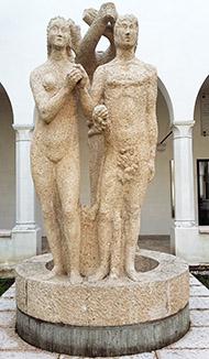 Adamo ed Eva, 1931 © Arturo Martini
