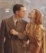 Cate Blanchett e Leonardo DiCaprio, entrambi nominati per <i>The Aviator</i>