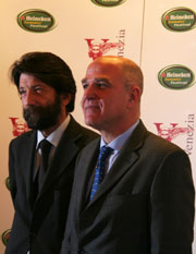 Massimo Cacciari, Peter Heilbron. Foto © Ottavia Da Re